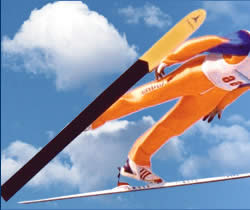 "Ski Jumping Nordic Combined in Russia. Sports Club ""Flying Skier"" - Perm."